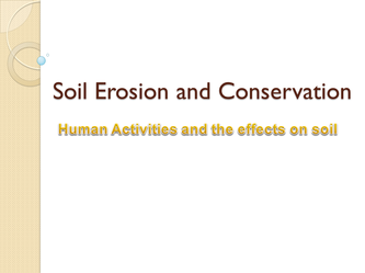 soil erosion human activities leaving certificate geography
