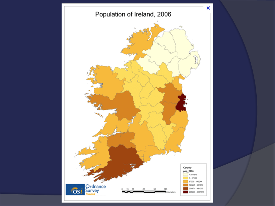 Sketch Map Of Ireland.The West Of Ireland Peripheral Region Leaving Certificate Geography